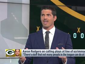 Watch: David Carr explains why LaFleur 'has his hands full' with Aaron Rodgers at QB