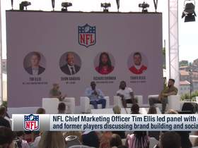 Watch: NFL CMO Tim Ellis led panel discussing brand building and social media