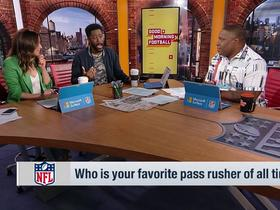 Watch: Nate Burleson breaks down why Lawrence Taylor is his favorite pass rusher of all time