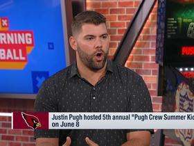 Watch: Justin Pugh reveals his early impressions of Kyler Murray