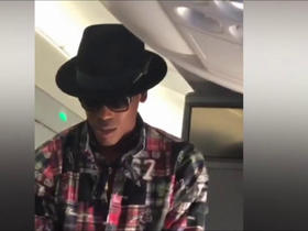 Watch: Cam offers to pay for passenger's seat with more leg room