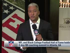 Watch: Wyche explains goal of NFL, Black College Football HOF two-day QB coaching summit