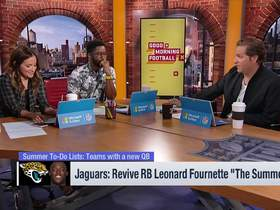 Watch: Kay's to-do list for Jags: Sign Jalen Ramsey and utilize Leonard Fournette