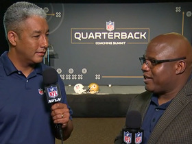 Watch: Eric Bieniemy discusses the importance of increasing diversity of NFL coaches