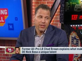 Watch: Chad Brown reveals the keys to Tom Brady's success