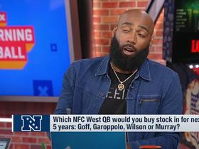 Watch: DeAngelo Hall: Wilson will be better than Goff over next five years