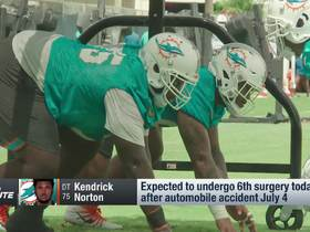 Watch: Kendrick Norton to undergo sixth surgery after car crash