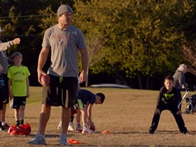 Watch: 'All or Nothing': Greg Olsen gets fired up as a flag football coach