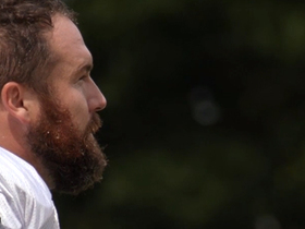 Watch: 'All or Nothing': Matt Kalil jokes with Christian McCaffrey about being slow