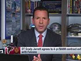 Watch: Rapoport: Grady Jarrett's new deal came together 'right at the deadline'