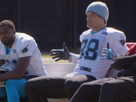 Watch: 'All or Nothing': Greg Olsen sings praises of 'Hamilton' to teammates
