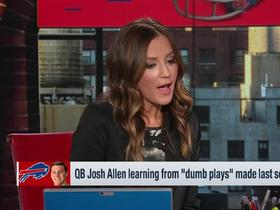 Watch: Kay Adams: Josh Allen will throw 'many more' TDs than interceptions in 2019