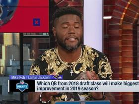 Watch: Mike Rob: Lamar Jackson will have the biggest 'overall improvement' in 2019