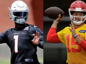 Watch: Comparing Kyler's situation to Mahomes' in '18