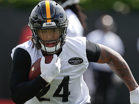 Watch: This Steelers rookie was 'elated' by his 'Madden NFL 20' rating