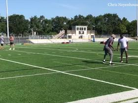 Watch: Watch Randy Moss coach up Nelson Agholor during practice session