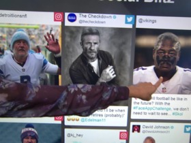 Watch: NFL players use FaceApp to age pictures of themselves