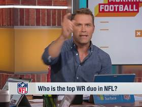 Watch: 'GMFB' breaks down their top WR duos in the NFL