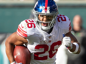 Watch: Will Saquon break all-time yards from scrimmage record this season?