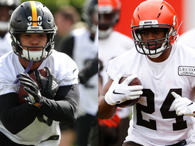 Watch: Fantasy RB rankings: Conner vs. Chubb