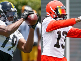 Watch: Fantasy WR rankings: OBJ vs. JuJu