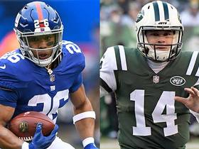 Watch: How does the rivalry between Saquon and Darnold elevate their game play?
