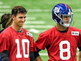 Watch: Kim Jones breaks down the relationship between Eli Manning and Daniel Jones