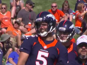 Watch: First look: Joe Flacco, Phillip Lindsay take field at Broncos' training camp