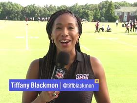 Watch: Tiffany Blackmon: Julio Jones has 'confidence' in Falcons organization