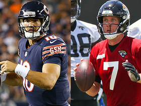 Watch: Trubisky vs. Foles: Who has a heavier weight on their shoulders?