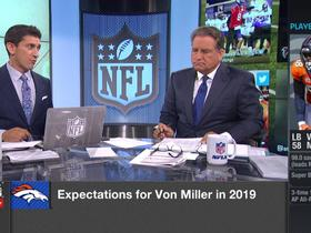Watch: Baldinger: What Miller can learn from Chubb's rookie season