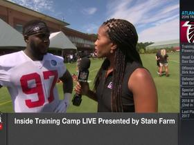 Watch: Grady Jarrett reacts to new contract extension