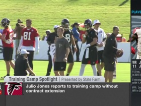 Watch: Rapoport: Why Julio Jones' contract extension can't happen until at least one year after his revised