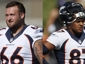 Watch: Palmer: Two rookies 'turning heads' at Broncos camp so far
