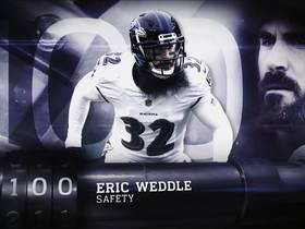 Watch: 'Top 100 Players of 2019': Eric Weddle | No. 100