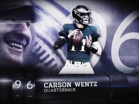 Watch: 'Top 100 Players of 2019': Carson Wentz | No. 96