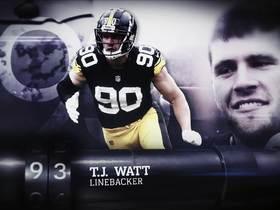 Watch: 'Top 100 Players of 2019': T.J. Watt | No. 93