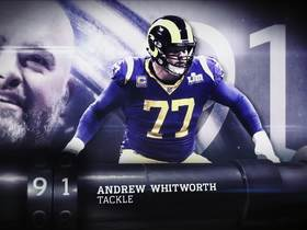 Watch: 'Top 100 Players of 2019': Andrew Whitworth | No. 91