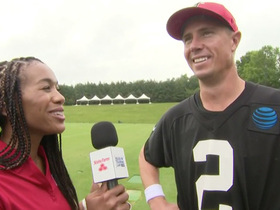 Watch: Matt Ryan talks about playing in Hall of Fame game before Tony Gonzalez's induction