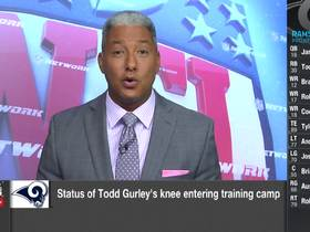 Watch: Wyche: Two biggest Rams camp storylines outside of Todd Gurley