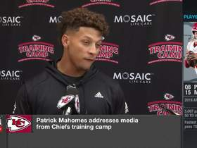 Watch: Mahomes discusses riding a horse into the ocean
