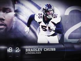 Watch: 'Top 100 Players of 2019': Bradley Chubb | No. 82