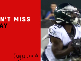 Watch: Can't-Miss Play: Sony Michel's brother scores 75-yard TD for Philly