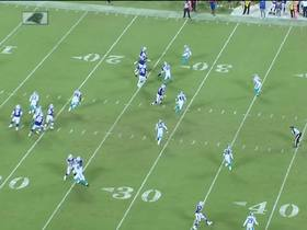 Watch: McKenzie presses TURBO on 37-yard catch and run