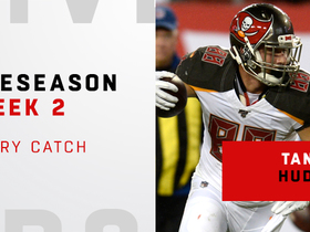 Watch: Every catch from Tanner Hudson's big game | Preseason Week 2