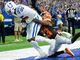 Watch: Ebron picks up where he left off! TE corrals TD in corner of the end zone