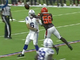 Watch: Willie Harvey tips pass to secure Browns' victory