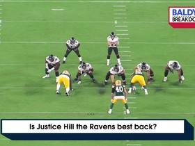 Watch: Is Justice Hill the Ravens best back? | Baldy's Breakdowns