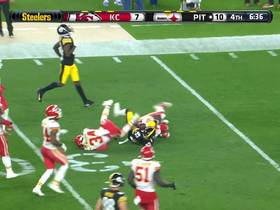 Watch: Former CFL star hits turbo on Steelers' tricky reverse for 19 yards