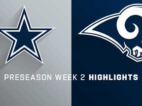 Watch: Cowboys vs. Rams highlights | Preseason Week 2